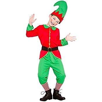Childs Christmas Workshop Elf Fancy Dress