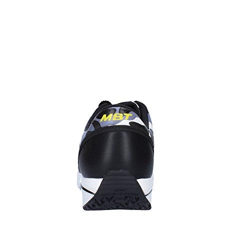 MBT - Zapatillas de Piel para hombre Negro / Blanco