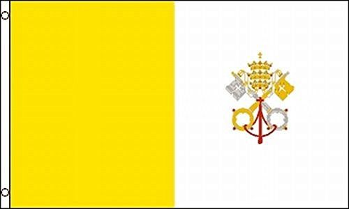 Vatican City Flag 12x18 Holy See Papal State Pope Rome Italy Roman Catholic Church 12
