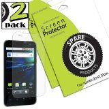 Spare Products Screen Protector Film for LG Optimus 2X/G2x - 2 Pack - Retail Packaging - Diamond (2x Lg Optimus Screen)