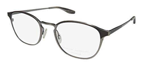 Barton Perreira Zalon Womens/Ladies Designer Full-rim Titanium Light Weight Eyeglasses/Eye Glasses (50-20-148, ()