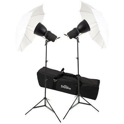 (RPS Studio Photoflood Umbrella 1000 Watt Photography Lighting Kit)