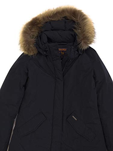 Parka Luxury Blue Bambina Artic Giubbotto Inverno Wkcps2043 Woolrich Midnight qSF6F