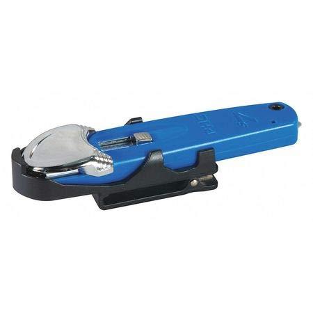 Plstc Clip-On Swivel Safety Holster for S7, Blue, PK10