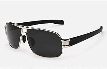 نظارة شمسية مستقطبة مربعة للرجال عاكسة للقيادة
