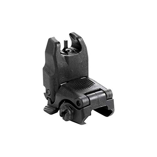 (Magpul MBUS Flip-Up Backup Sights, Black, Front Sight)