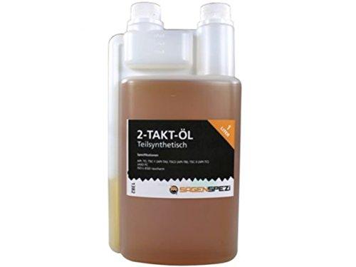 1 Liter Sägenspezi 2-Takt-Öl teilsynthetisch für Motorsägen