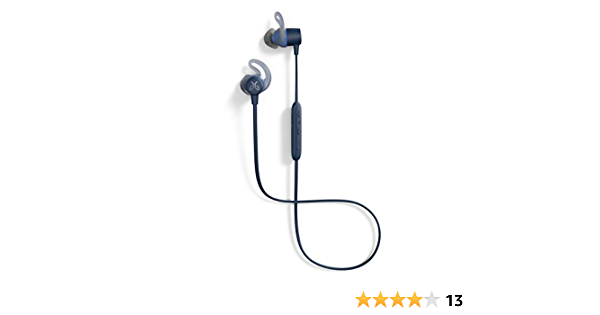 Jaybird Tarah Bluetooth Wireless Sport Headphones for Gym Training, Workouts, Fitness and Running Performance: Sweatproof and Waterproof – Solstice Blue/Glacier