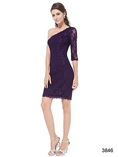 Ever Pretty, Grace Karin Quissmoda Vestido Coctel, Color Azul Marino,Morado, Granate
