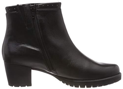Gabor Femme 27 Noir Basic Comfort Micro Botines Schwarz Shoes raAw1Tnr