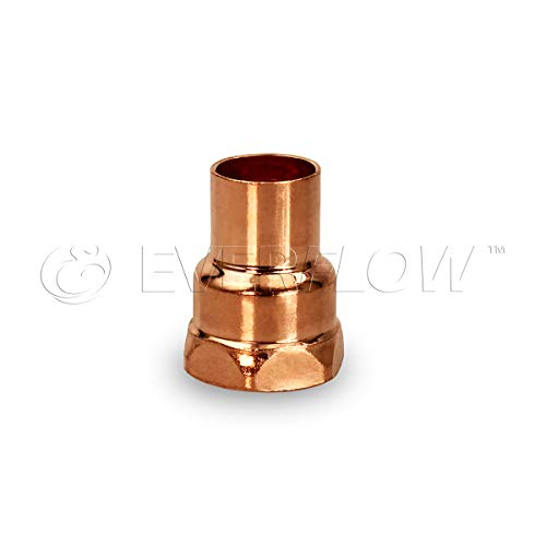 Everflow Supplies CCFA0034 Female Adapter Fitting with C X F Connections, 3/4