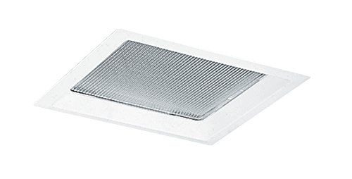(Juno Lighting Group 70-WH Crystal Diffuser Square Incandescent Recessed Trim, 10-Inch, White Finish)