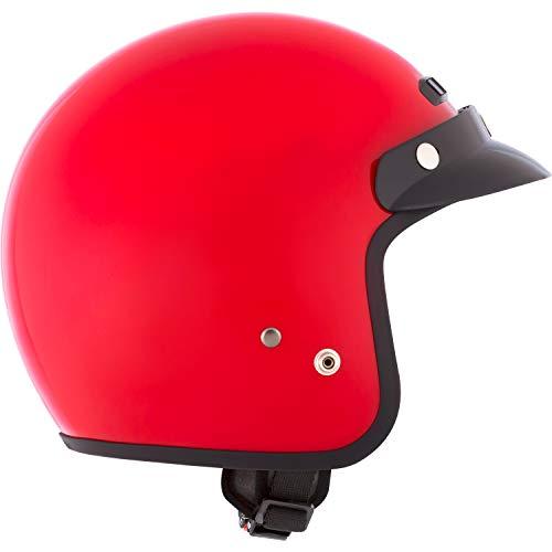 (CKX VG200 Open-Face Helmet Solid Medium)