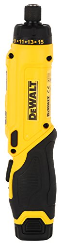 DEWALT DCF680G2-GB 7.2V 6.35 mm XR Li Ion Cordless Motion Activated Screwdriver with 2x1.0 Ah batteries included 2