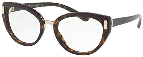 Bvlgari Women's BV4139 Eyeglasses Dark Havana 52mm