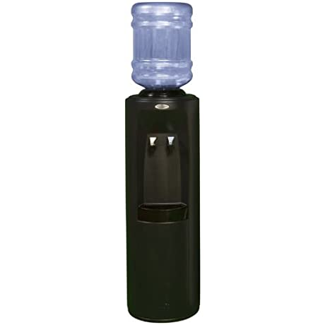 Oasis BPD1SHS BLK W WTG Atlantis Hot N Cold Bottled Water Cooler With WaterGuard System Black
