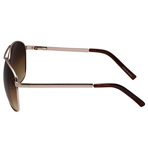 5f292a61b grinderPUNCH - Big XL Wide Frame Extra Large Aviator Sunglasses Oversized  148mm Gold