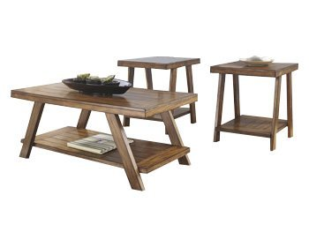 Rustic Coffee Table Sets 3