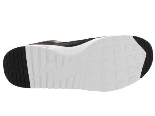 Nike Air Max Donne Di Stampa Thea Nero / Bianco / Brght Mgnt / Rd Vlt In Esecuzione Di Scarpe 6.5 Donne Degli Stati Uniti
