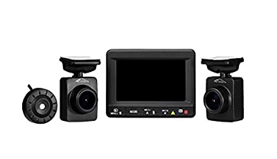 SpyGear-Spy Tec K1S Dual Car Dash Camera | Front and Rear 1080p Remote Lens Cameras | 140 Degree lenses | 64GB microSD capacity | Ambarella A7LA70 - Spy Tec Inc.