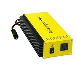 PowerBright APS300-24 24-Volt 300W Pure Sine Wave Power Inverter, 300W Continuous Power, 350W (20 Min) Continuous Power, 500W Peak Load Power Rate, Anodized aluminum case provides durability & max heat dissipation