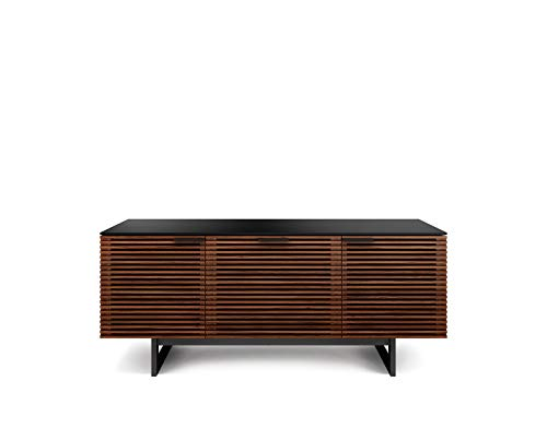 - BDI Furniture 8177 CWL Corridor Media Center, Chocolate Stained Walnut