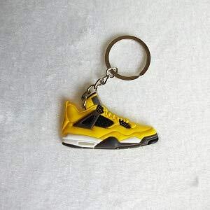 Mini Silicona Jordan 4 Llavero Bolsa Encanto Mujer Niños ...