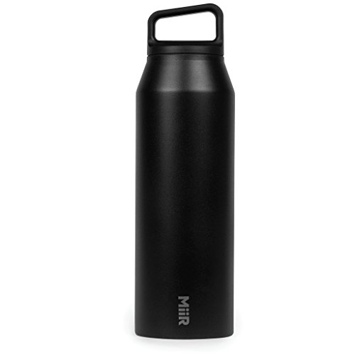 MiiR Wide Mouth Bottle, Black, 20 oz