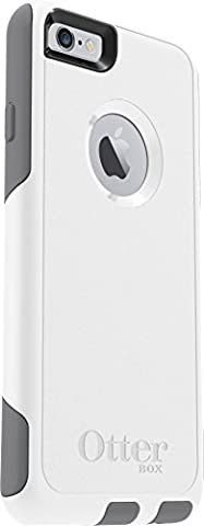 OtterBox COMMUTER SERIES Case for iPhone 6/6s - Retail Packaging - GLACIER (WHITE/GUNMETAL GREY) (Apple Iphone 6 Case Otterbox Slim)