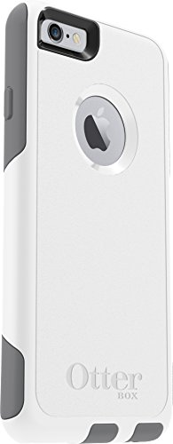 OtterBox COMMUTER SERIES Case for iPhone 6/6s - Retail Packaging - GLACIER (WHITE/GUNMETAL GREY)