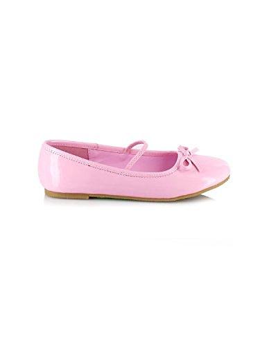 Ellie Shoes E013BALLETP-L Large Ballet Child Slipper - Pink LXGFWOpAvK