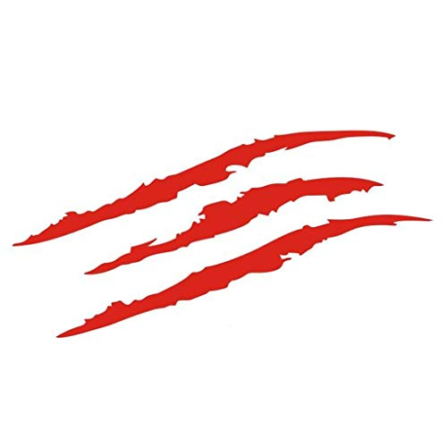 Glumes Claw Marks Headlight Decal Car Vinyl Sticker