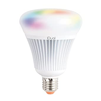 Jedi lighting 140189081 - Bombilla G100 E27 iDual 1055 lm, incluye mando a distancia: Amazon.es: Iluminación