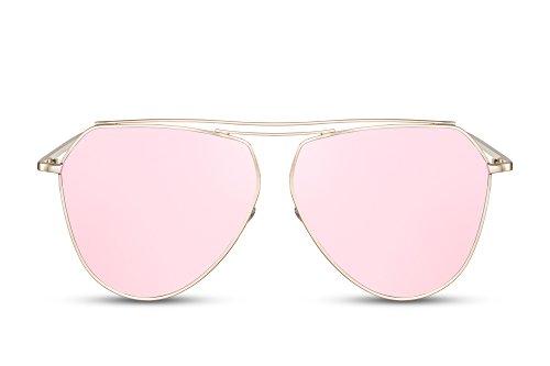 Gafas Retro Hombres UV 400 Mujeres Sol 002 Metálicas Cheapass De Diseñador Ca Espejadas qUw4TOqd