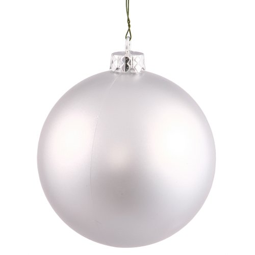 sh Seamless Shatterproof Christmas Ball Ornament, UV Resistant with Drilled Cap, 12 per Bag, 3