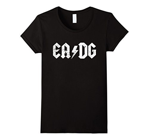 Womens Bass Player T shirt E A D G Strings of the Bass Medium - D G Store And