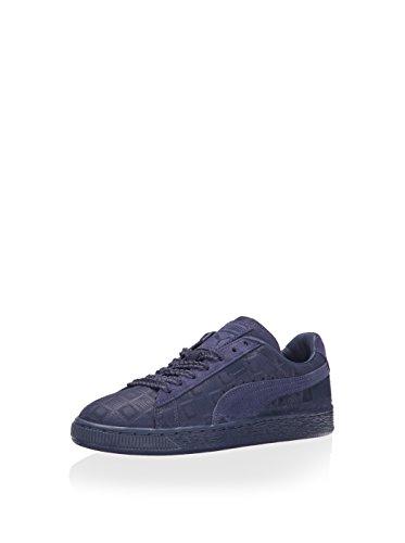 PUMA Women's Suede Classic – Solange Collection Crown Blue Squares Sneaker 6.5 B (M)