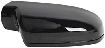 Gaoominy Left Right Gloss Bright Black Rearview Wing Mirror Cover Cap For A4 B8.5 S4 2010-2015 A3 S3 2011-2013 A5 S5 2010-2016 8T0857527D 8T0857528D