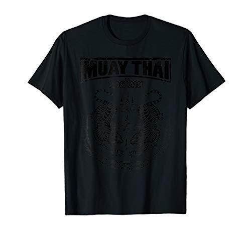 Muay Thai Twin Tiger T- Shirt