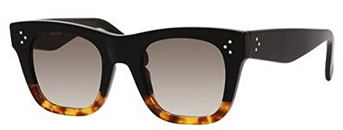 Celine 41089/S FU5 Black/Havana Catherine Small Wayfarer Sunglasses Lens - Celine Mens