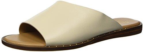 Franco Sarto Women's RYE Flat Sandal, Milk, 7 M US