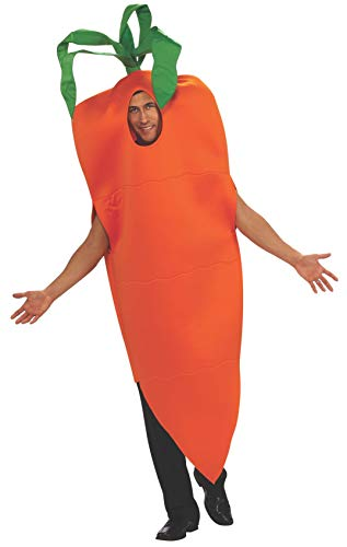Rubie's Carrot Suit Adult Humor Costume, Orange, Adult Standard]()