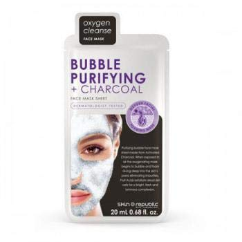 Skin Republic Oxygen Cleanse Face Mask - Bubble Purifying + Charcoal 20ml ()