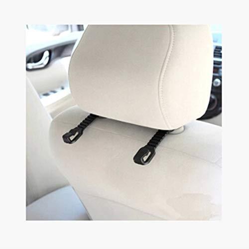 Per Veicolo Gancio Clip Poggiatesta Auto Sedile Borsa Universale A Appeso Seggiolino Supporto Nero E Schienale Chiusura Organizzatore 4dTZWq4Sx