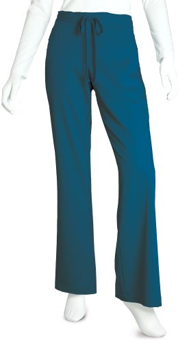 Grey's Anatomy Women's Junior-Fit Five-Pocket Drawstring Scrub Pant - Small - Bahama