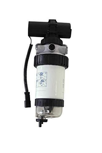 Fuel Filter/Priming Pump fits JCB Wheeled LOADERS Model TM420 -  WHD G, 320/A7045