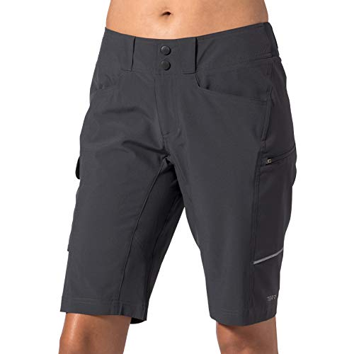 Terry Women's Metro Short Lite Bicycling Short - Fits Like a City Short, But with Enough Flexibility and Features for Cycling and Riding- Ebony - Medium