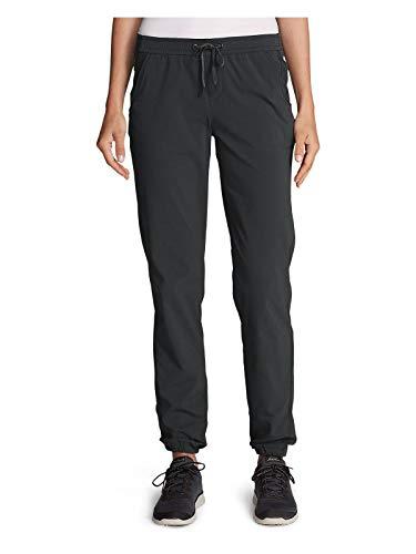 Eddie Bauer Women's Horizon Adjustable Jogger Pants, Dk Smoke Petite 2 ()