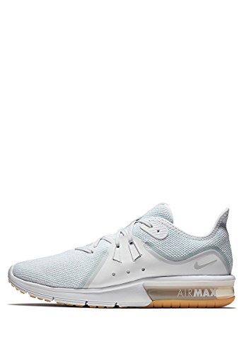 Noir Running White Max Sequent Platinum de Chaussures 3 Clair Pure Nike Homme Gris Air qAf8YY