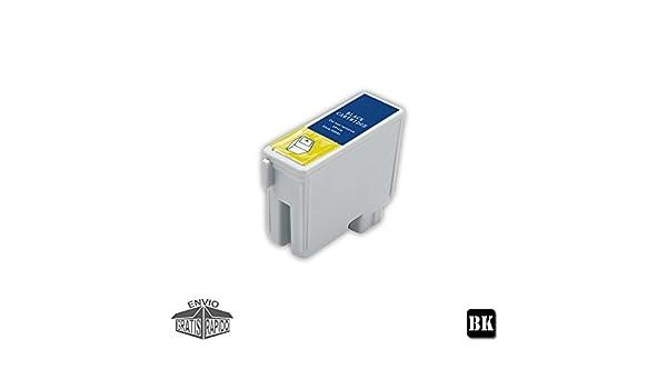 Cartucho DE Tinta Negro Compatible LX16 BK para Impresora LEXMARK ...